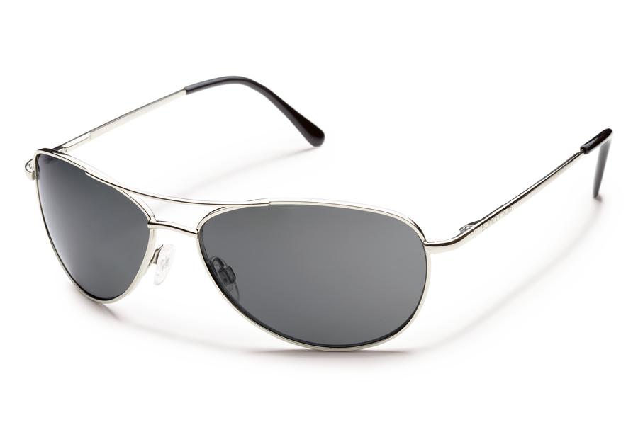 SILVER/POLARIZED GRAY