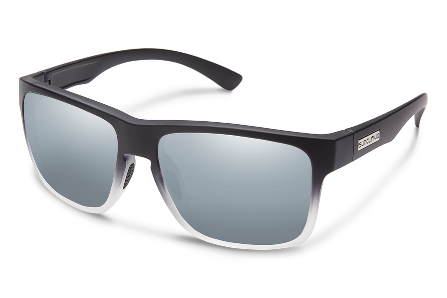 BLACK GRAY FADE/POLARIZED SILVER MIRROR
