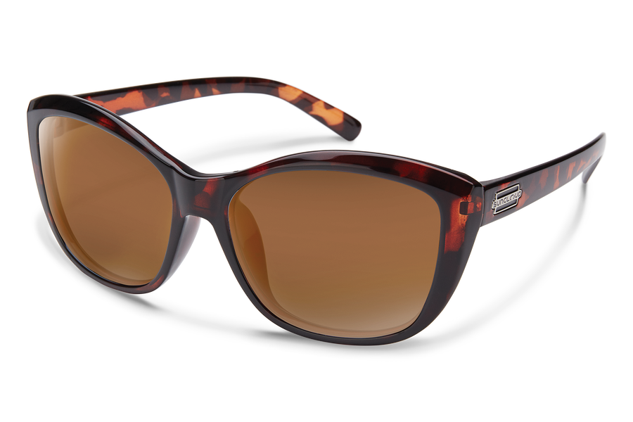 TORTOISE/POLARIZED BROWN
