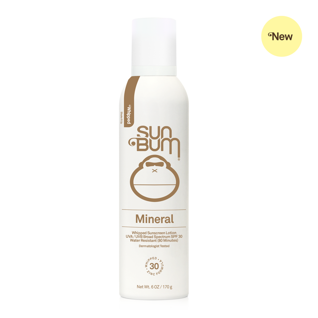 SUN BUM MINERAL SPF 30 WHIPPED SUNSCREEN LOTION