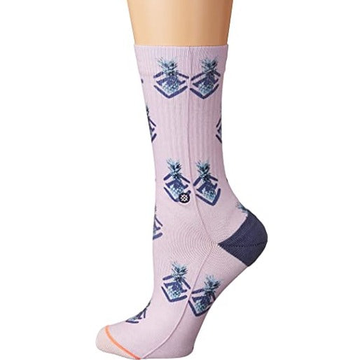 STANCE POLKA PINEAPPLE WOMEN'S CREW SOCKS