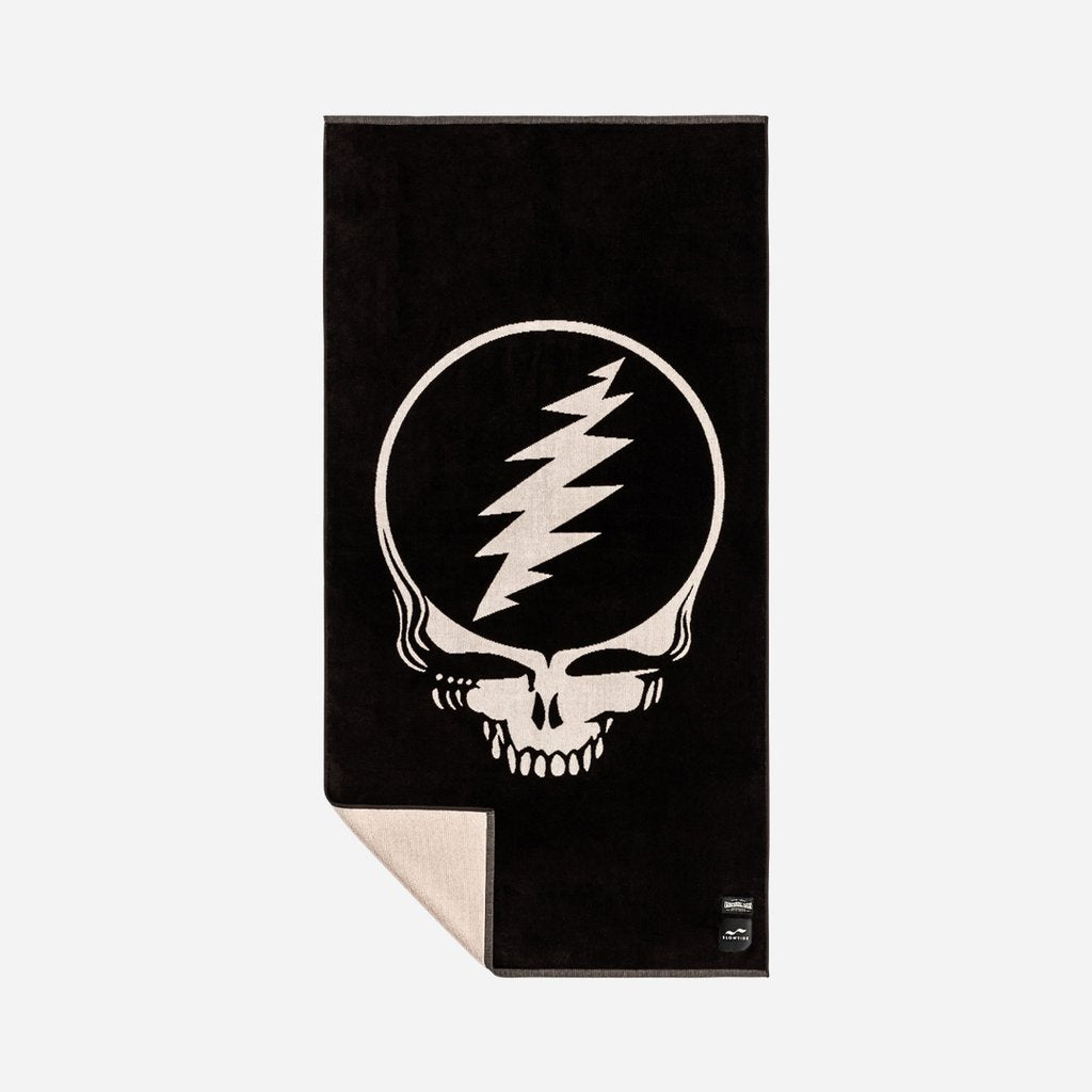 SLOWTIDE GRATEFUL SHRED - BLACK TOWEL