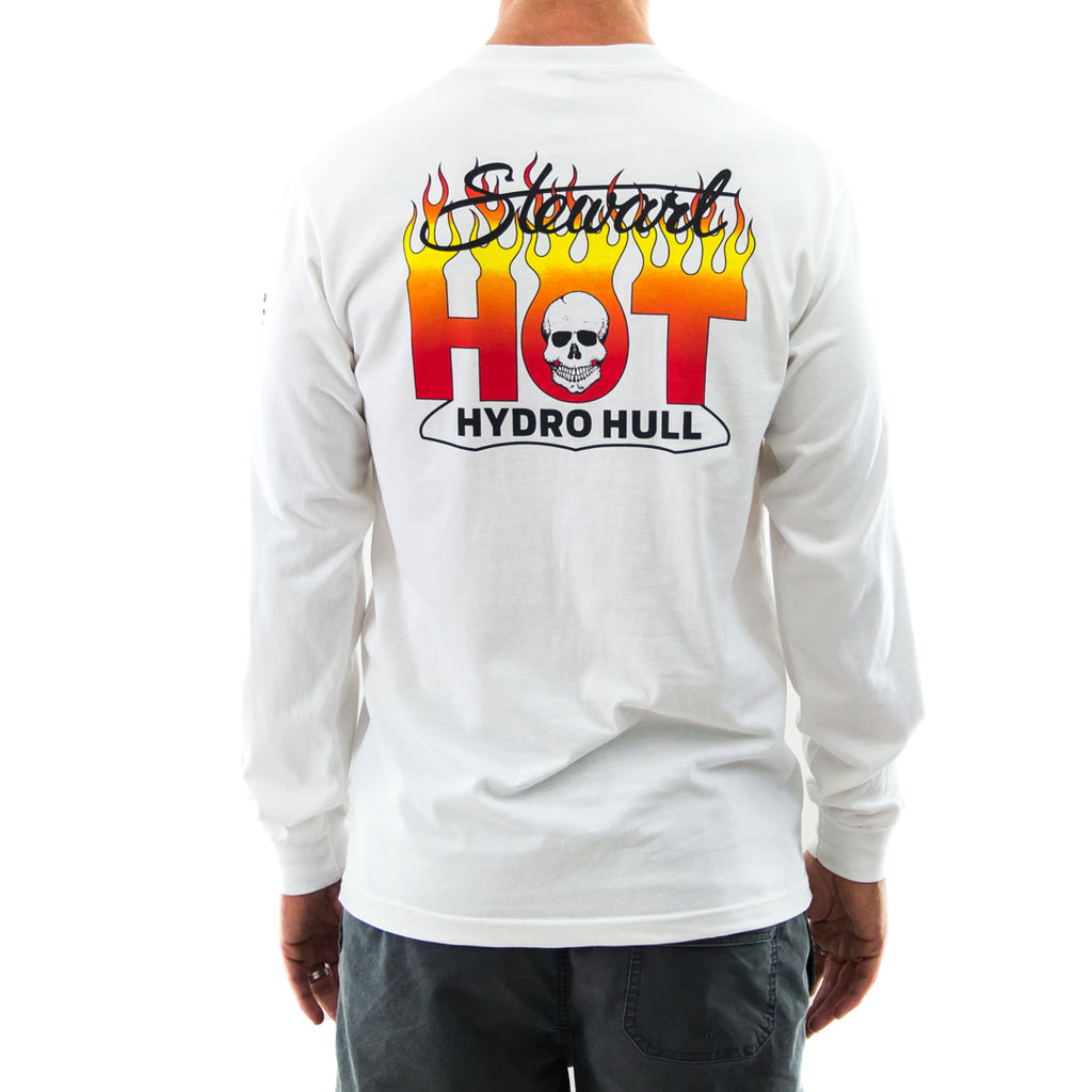 STEWART MEN'S RETRO HOT HYDRO HULL L/S T-SHIRT