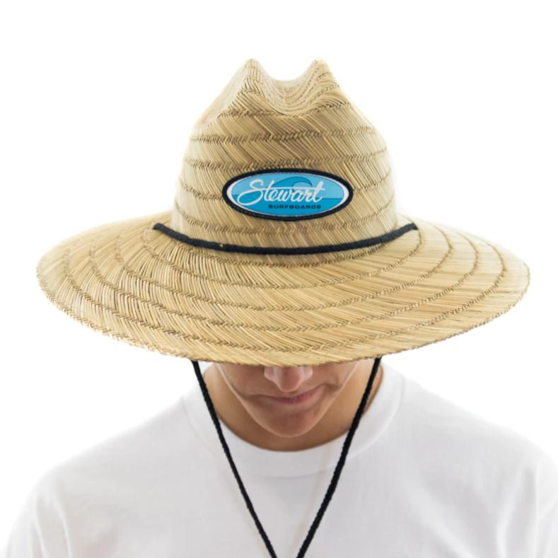 STEWART WAVE OVAL STRAW LIFEGUARD HAT