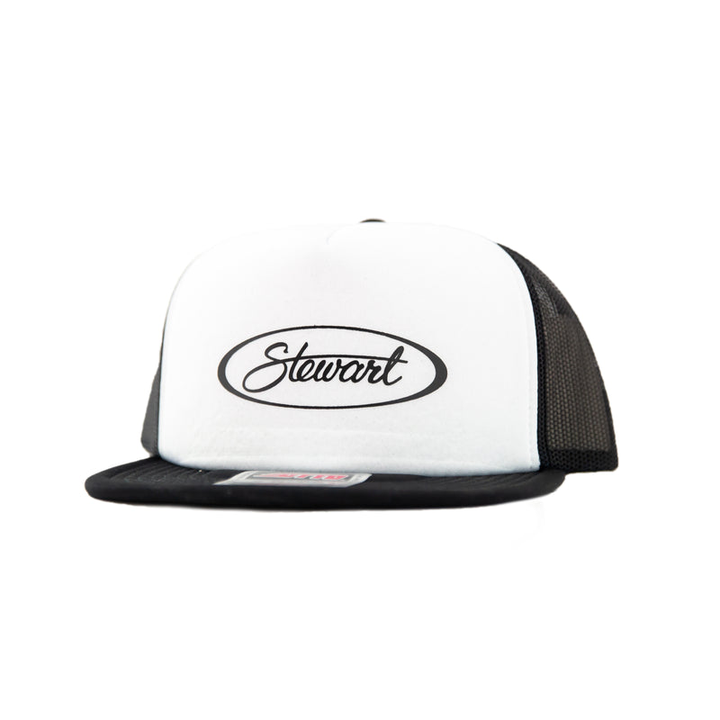 STEWART OVAL TRUCKER HAT