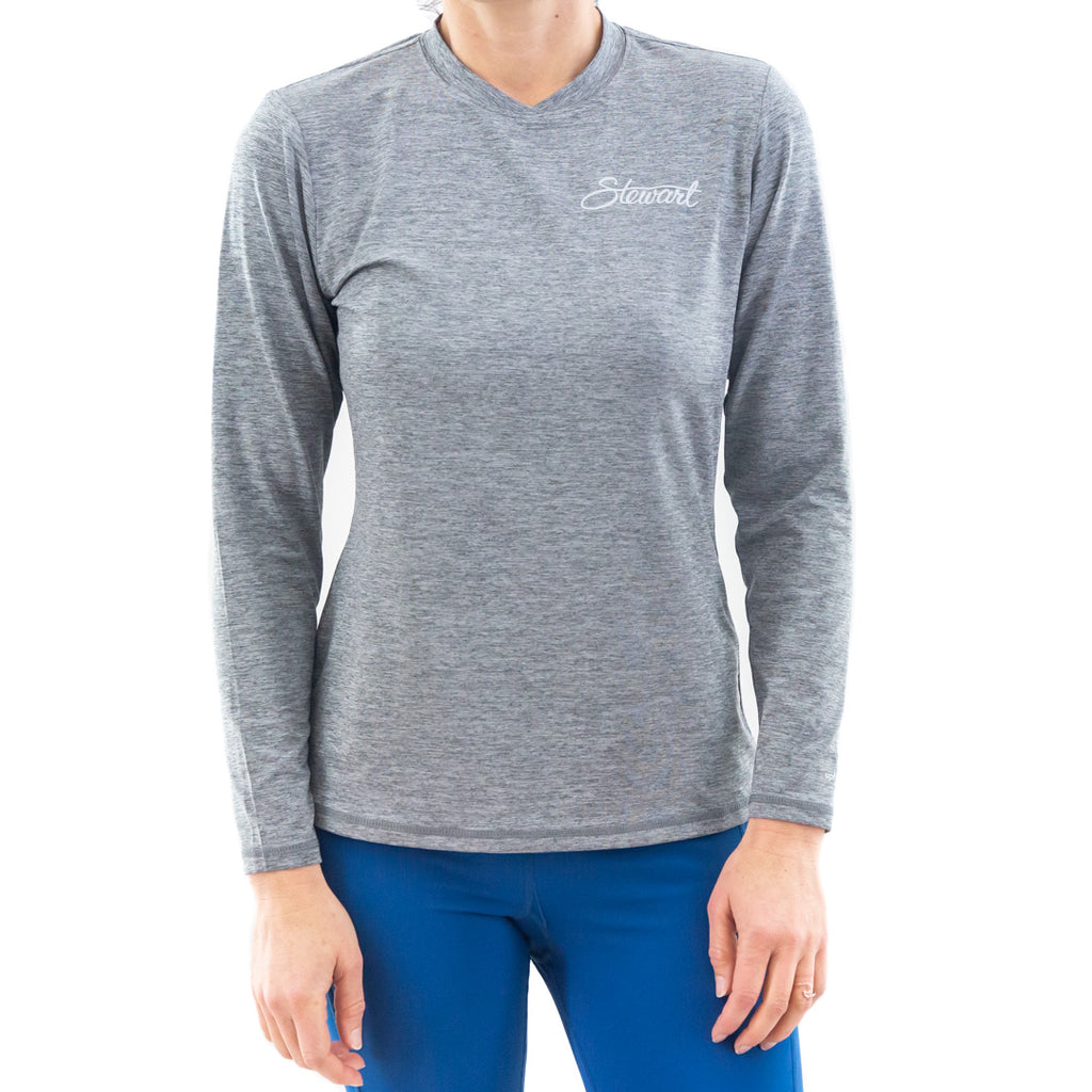 STEWART WOMEN'S MALIBU L/S TECH SHIRT