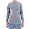STEWART MEN'S STAMPED L/S T-SHIRT