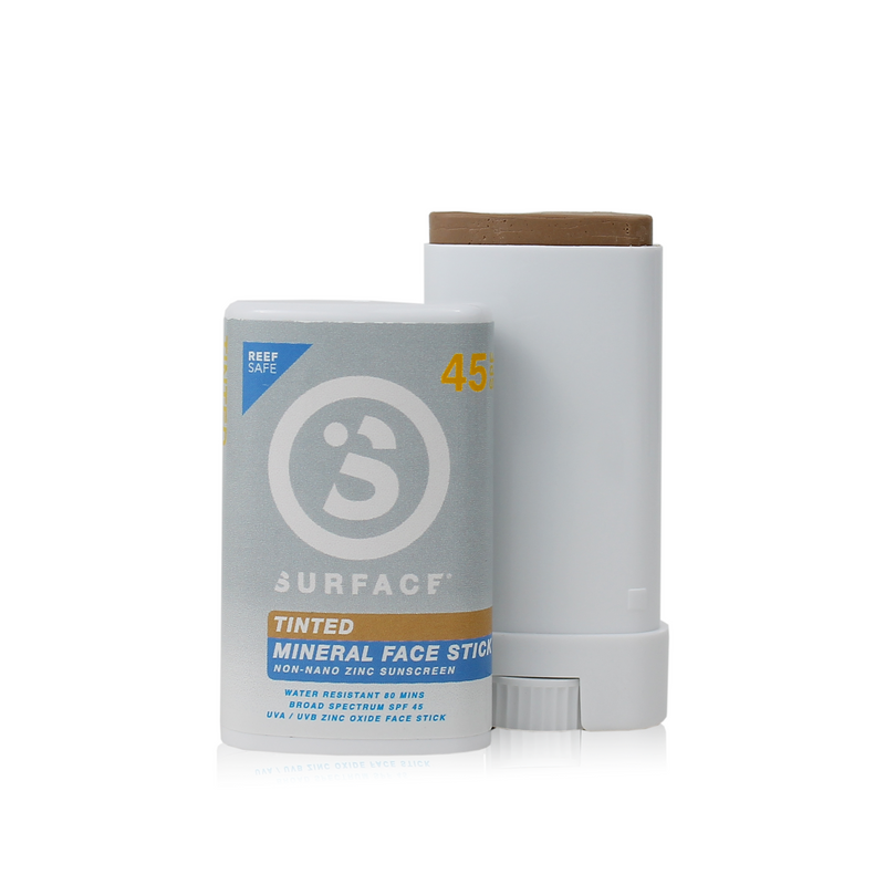 SURFACE ZINC OXIDE FACESTICK