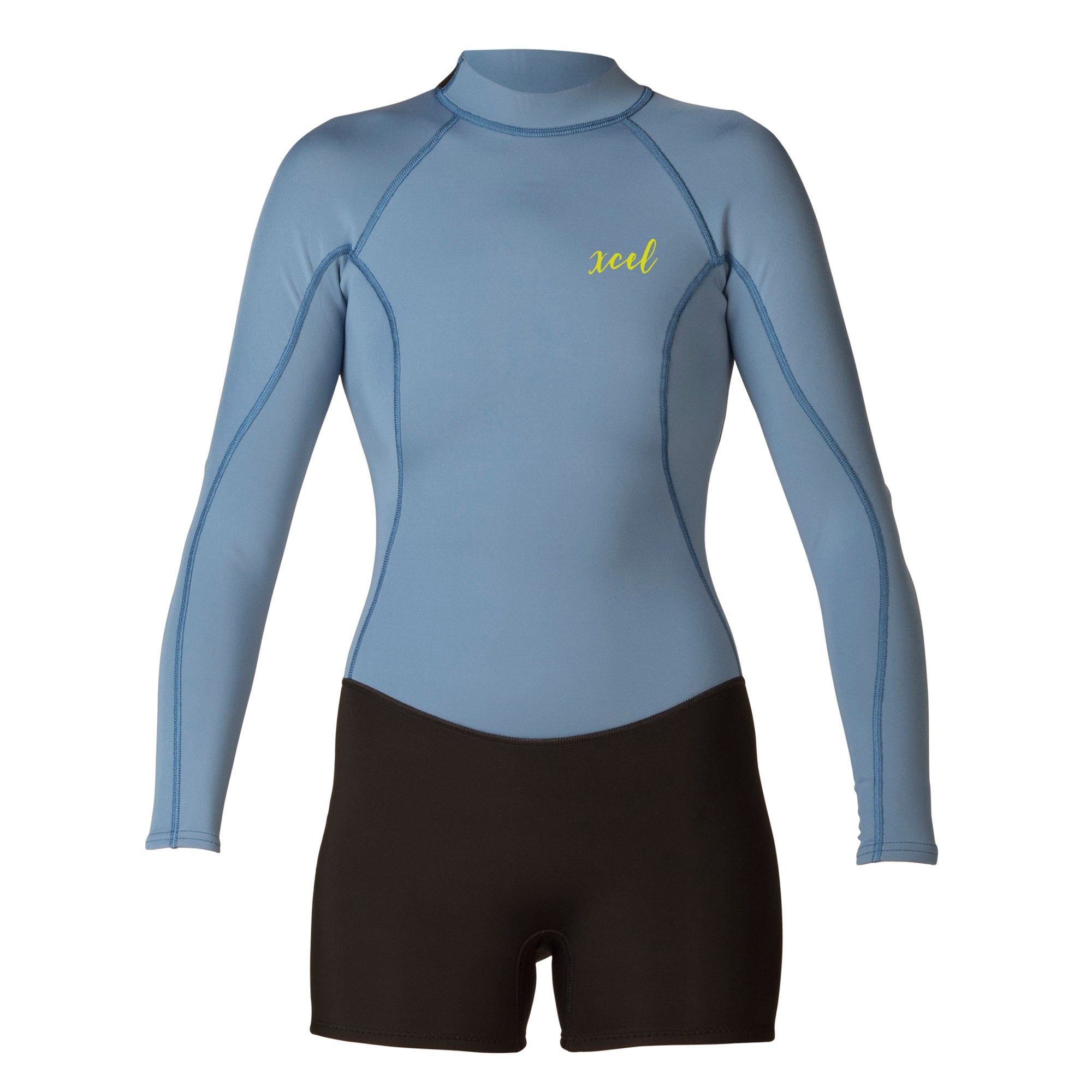 d279106012 XCEL WOMEN S AXIS 2 1mm L S SHORTY SPRINGSUIT – Stewart Surfboards