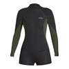 XCEL WOMEN'S AXIS 2/1mm L/S SHORTY SPRINGSUIT