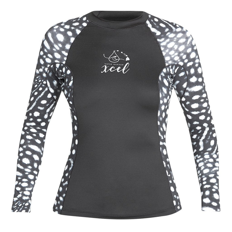 XCEL WOMENS WATER INSPIRED 6OZ LONG SLEEVE W/KEY POCKET UV