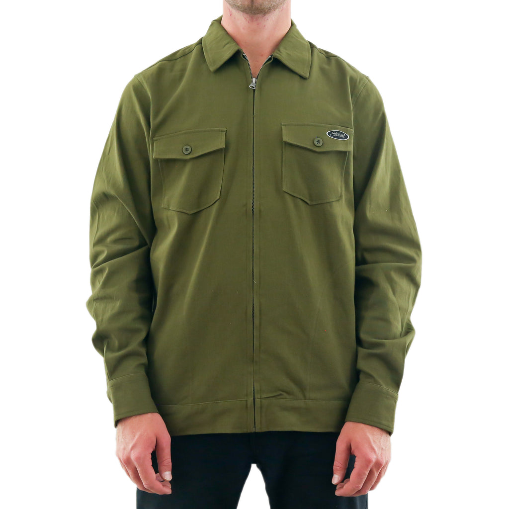 STEWART TWILL COACH JACKET