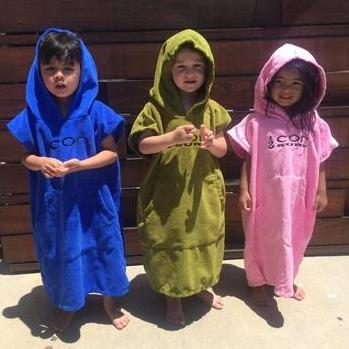 KIDS MICROFIBER CHANGING PONCHO