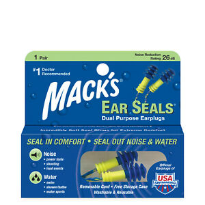 MACK'S AQUA SEAL EAR PLUGS