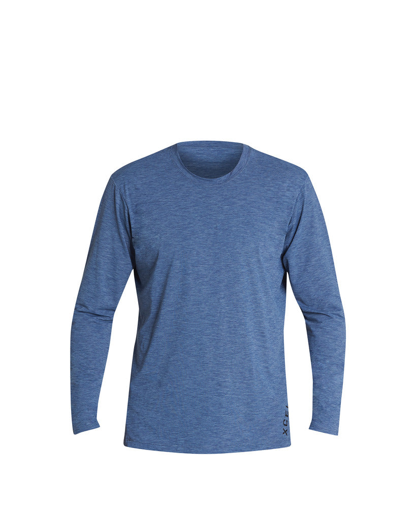XCEL HEATHERED VENTX L/S UV PROTECTION SHIRT