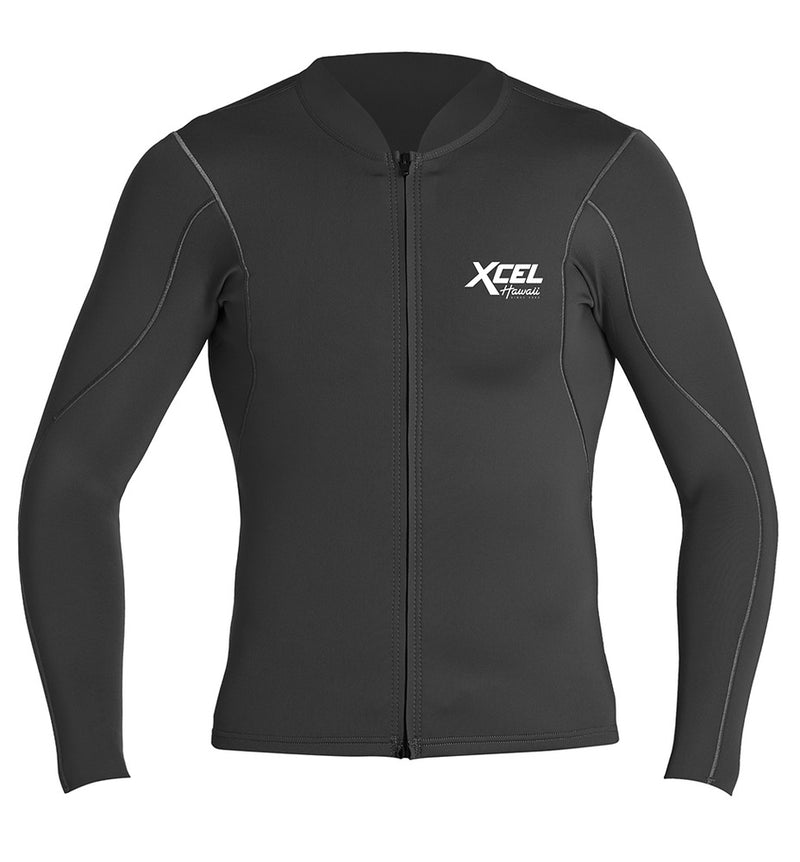 XCEL MEN'S AXIS L/S FRONT ZIP 1/0.5MM SP19