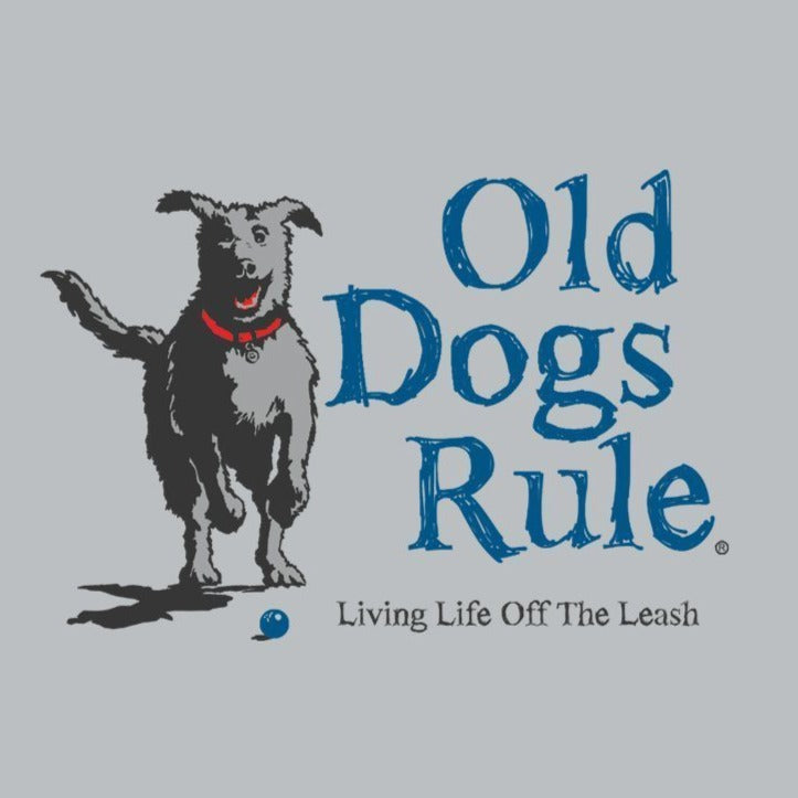 OLD GUYS RULE - LEASH T-SHIRT