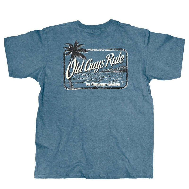 OLD GUYS RULE - VACATION PALM T-SHIRT