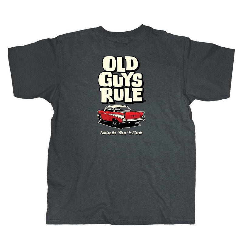 OLD GUYS RULE - CLASS IN CLASSIC T-SHIRT