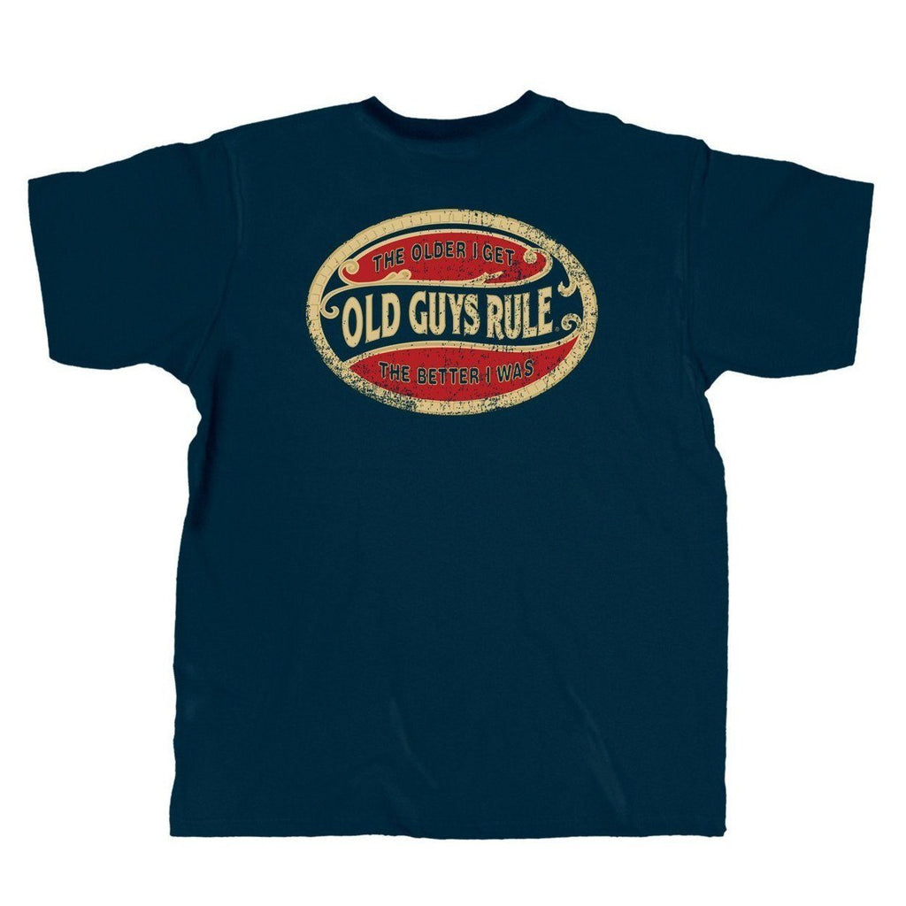 OLD GUYS RULE - BETTER OVAL T-SHIRT
