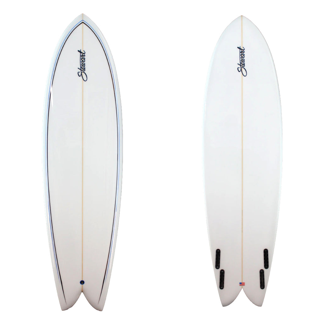 7'0 RETRO FISH B#115910 | Stewart Surfboards