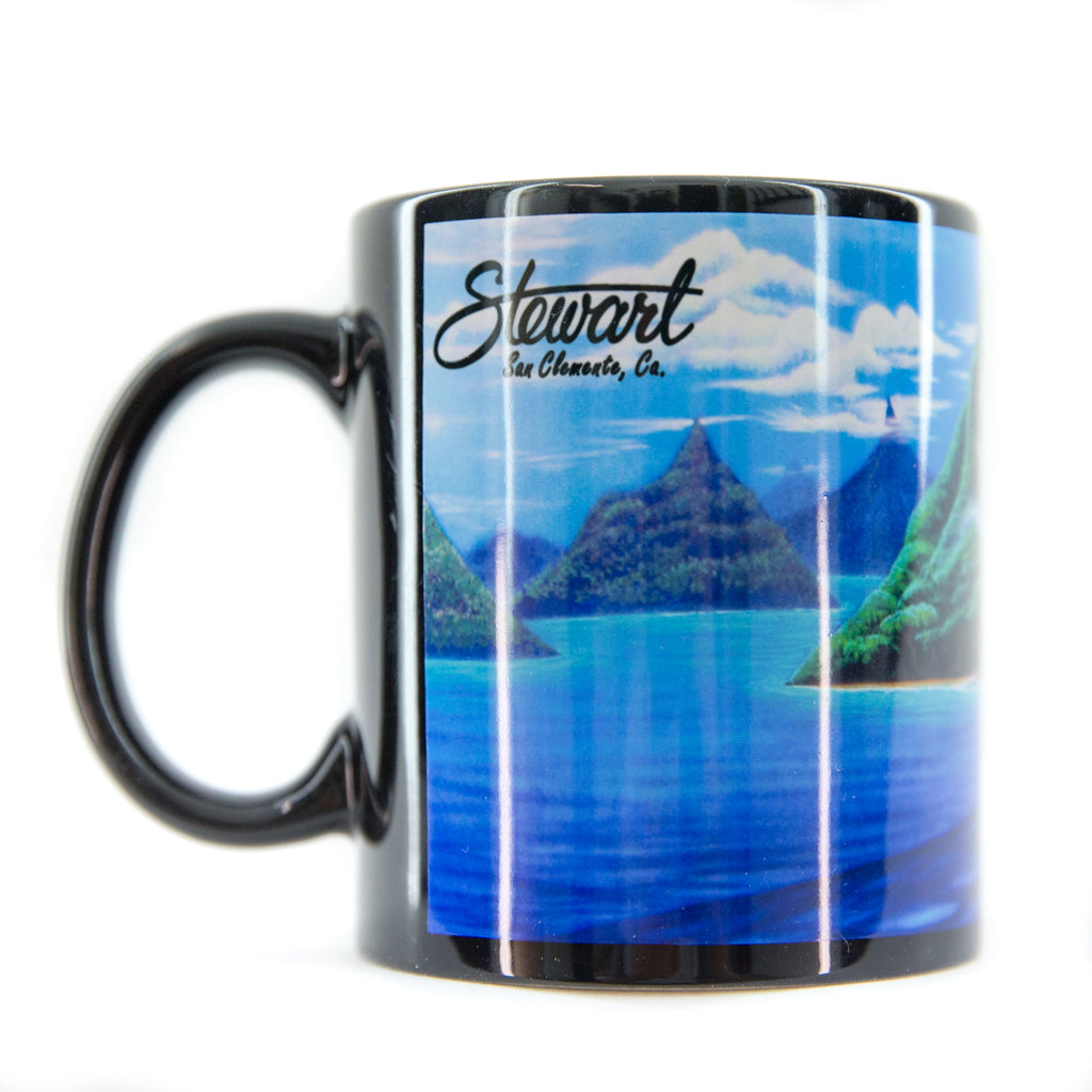 STEWART WAVE WALL COFFEE MUG