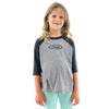 STEWART YOUTH 3/4 SLEEVE BASEBALL TEE