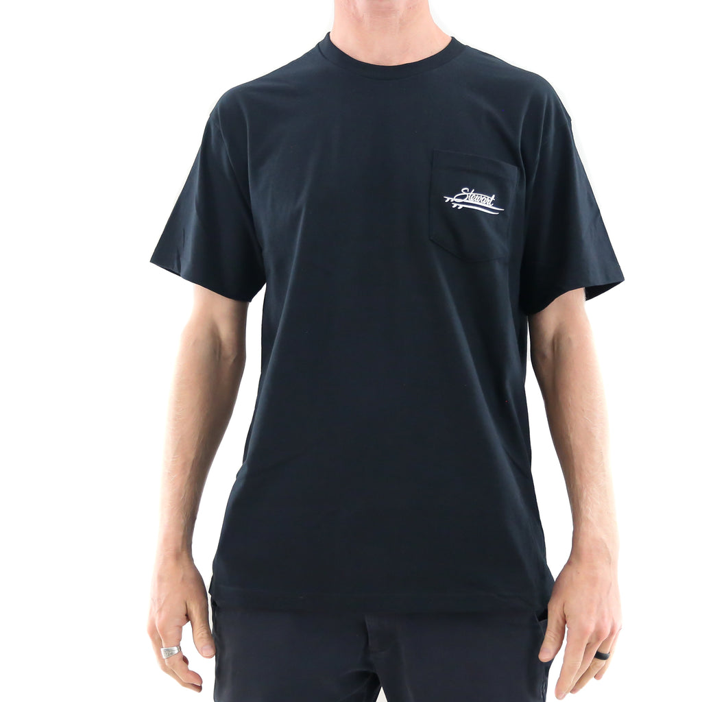 STEWART MEN'S ROCKER S/S POCKET TEE