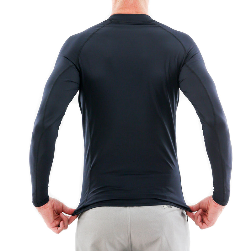 STEWART MEN'S FUSE L/S RASH GUARD