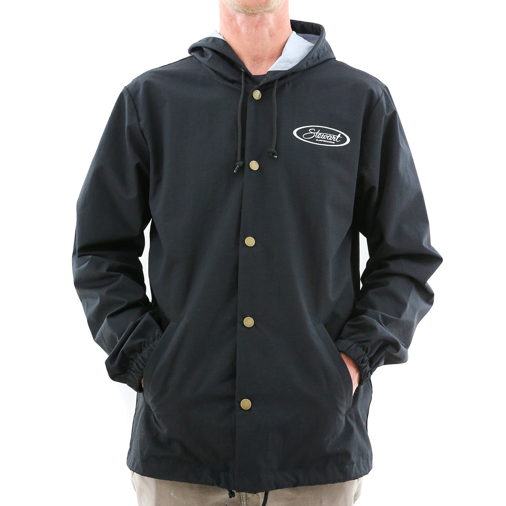 STEWART WINDBREAKER SNAP JACKET