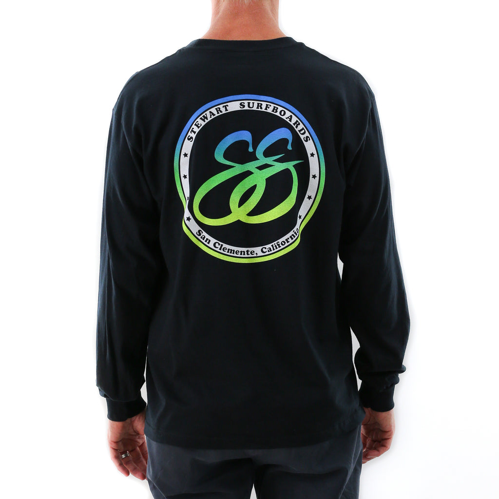 STEWART MEN'S RETRO SS CIRCLE L/S T-SHIRT