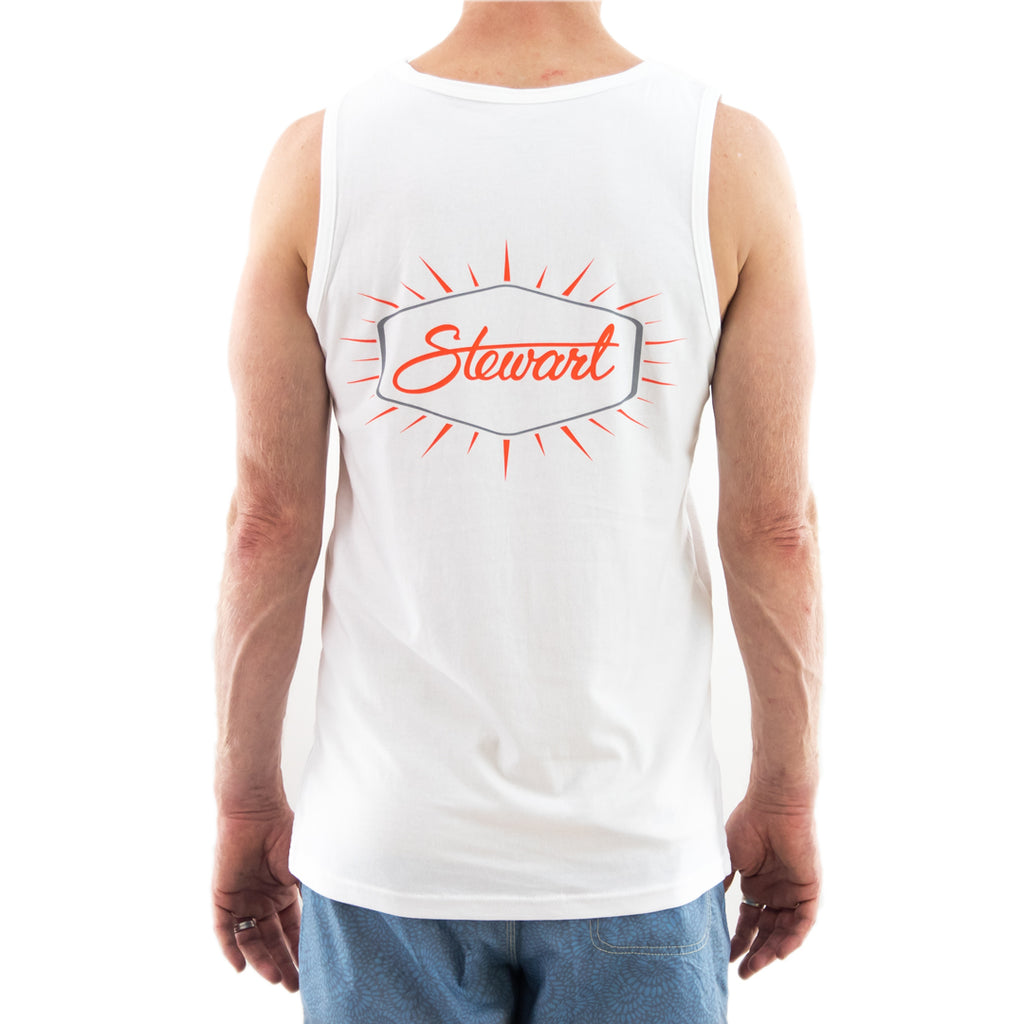 STEWART MEN'S BURST TANK TOP