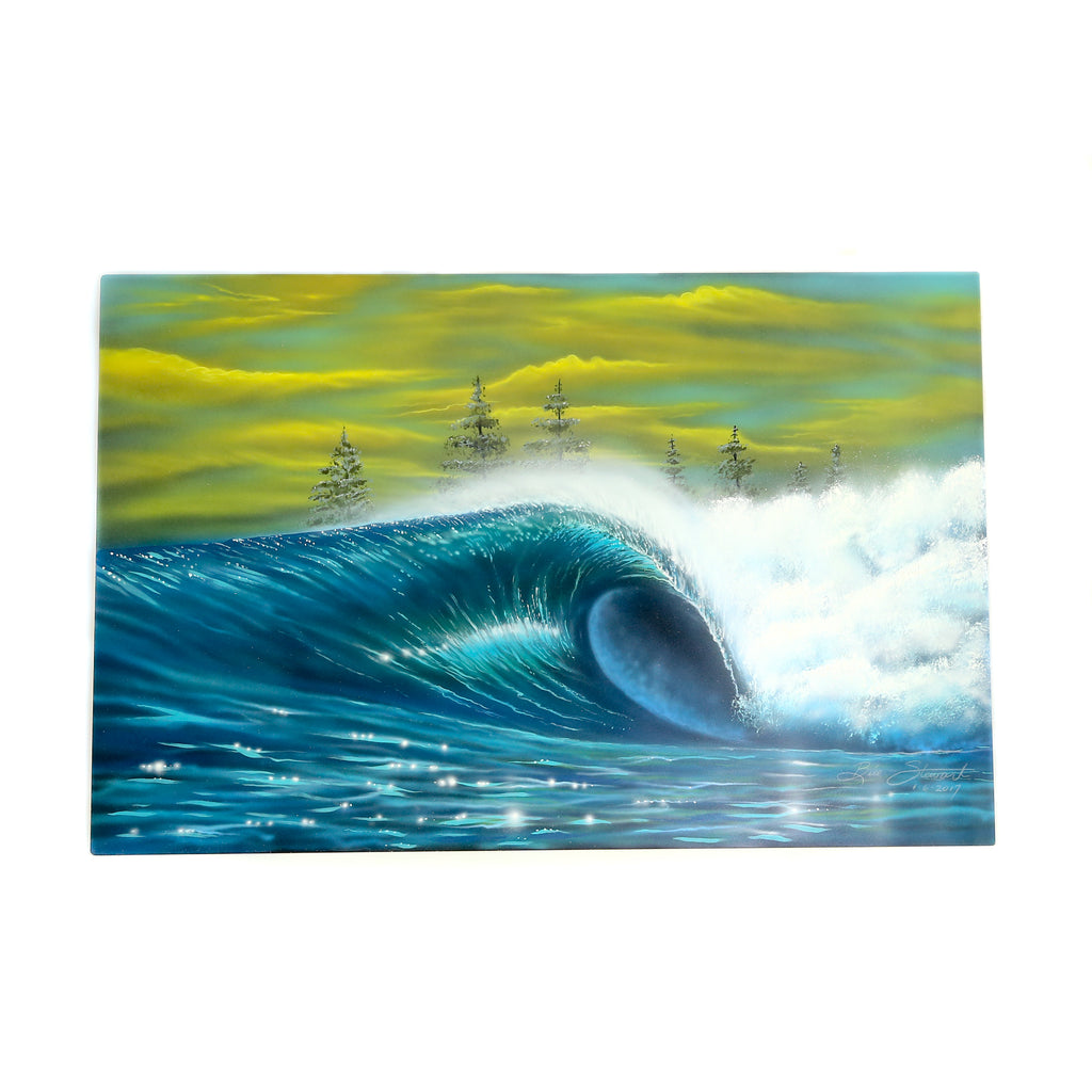 BILL STEWART ORIGINAL ART - METAL WAVE