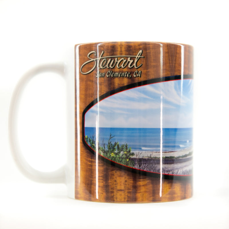 TRESTLES KOA WOOD COFFEE MUG