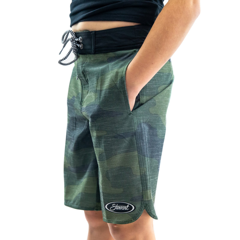 STEWART YOUTH GLOBAL BOARDSHORT