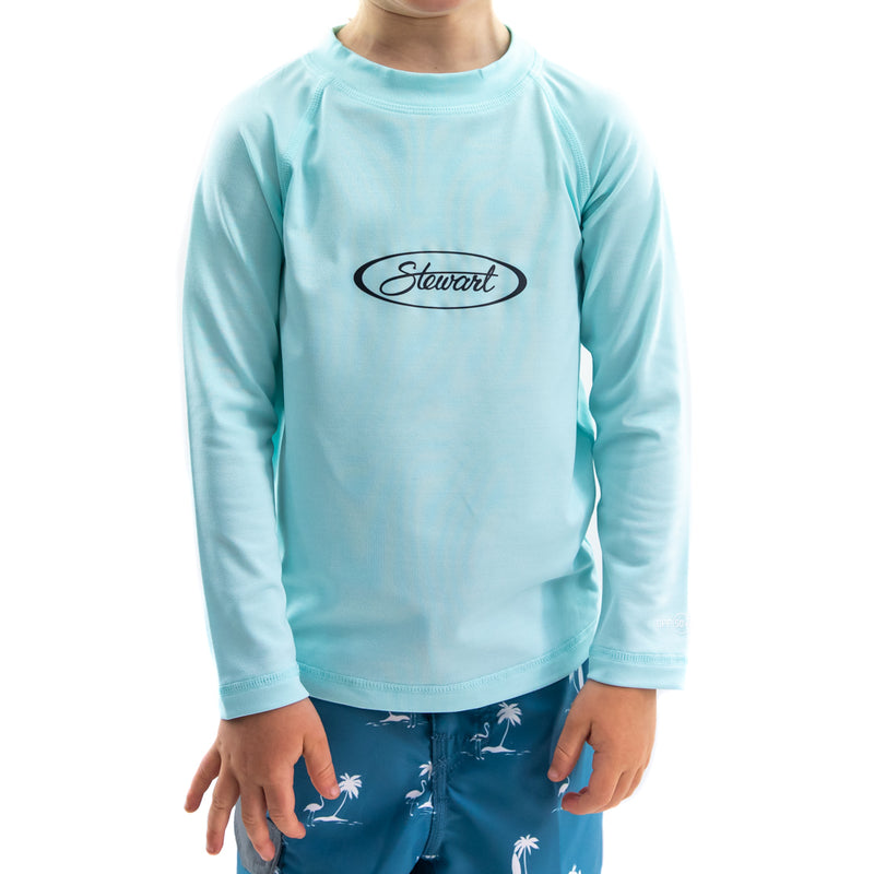 STEWART TODDLER HYBRID L/S TECH TEE