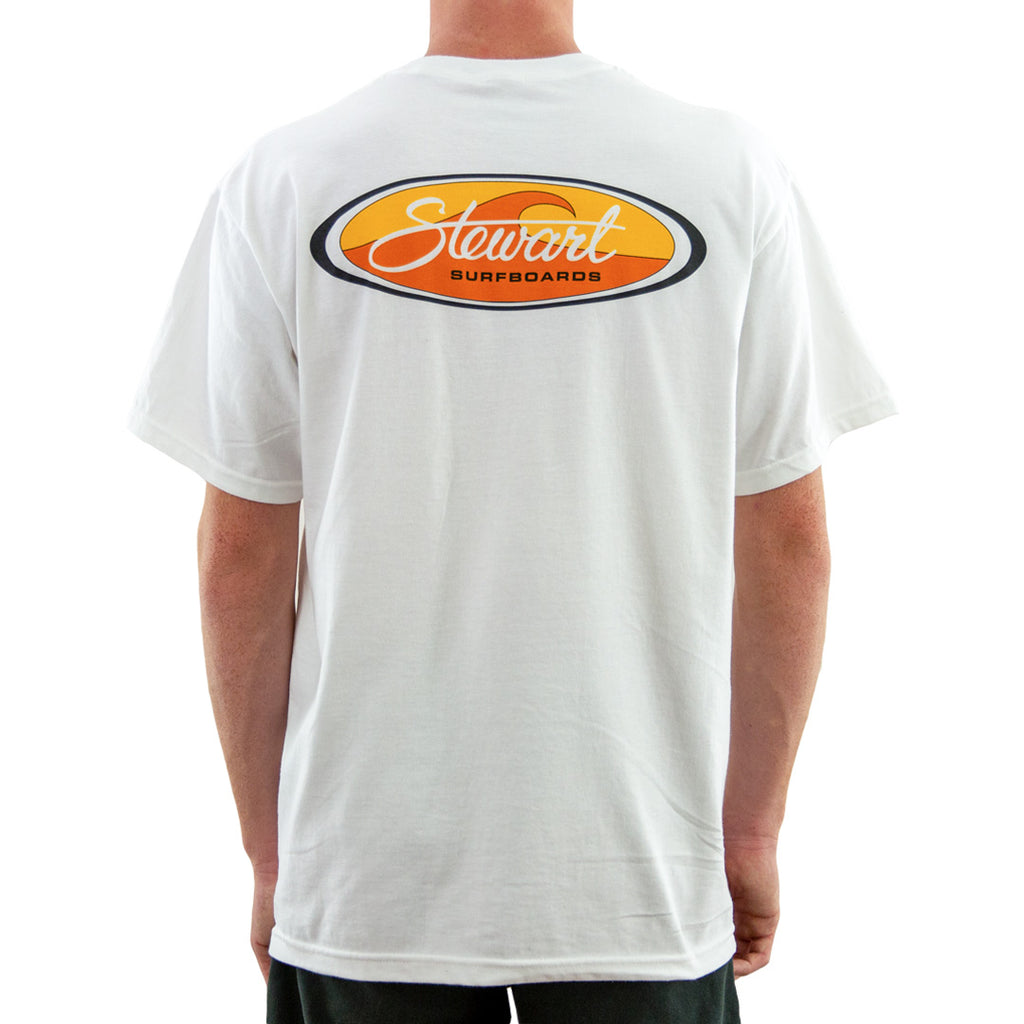 STEWART MEN'S WAVE OVAL T-SHIRT