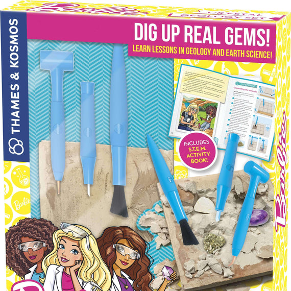 Barbie Crystal Geology