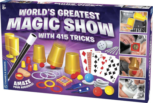 World's Greatest Magic Show (with 415 Tricks)