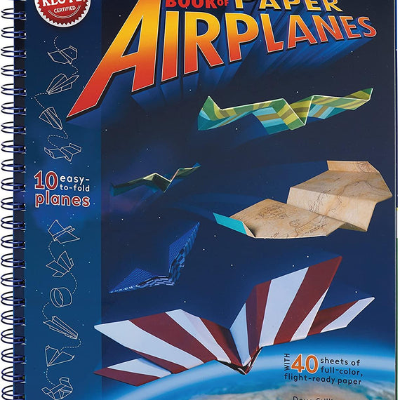 Paper Airplanes Craft Kit Book - Learn to build and fly