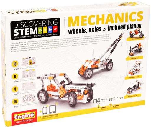 Engino Stem Mechanics:  Wheels, Axles, Incline