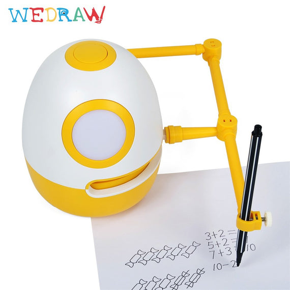 WEDRAW Robot Eggy 2 for interactive drawing and math challenges