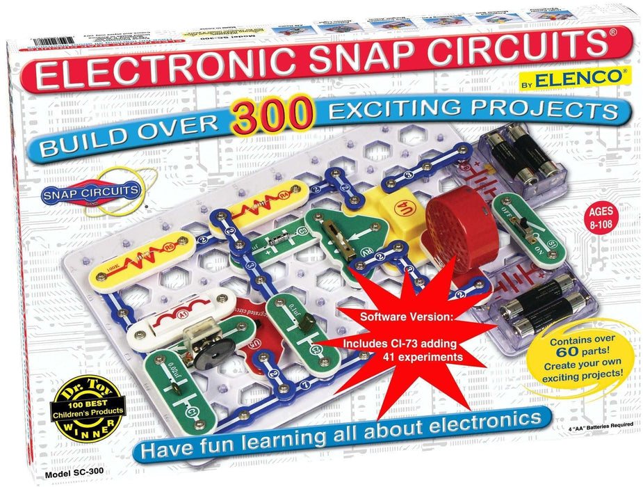 Snap Circuits SC-300 w/ computer interface