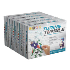 5 Pack Turing Tumble - Marble Run Logic Game to understand how computers work