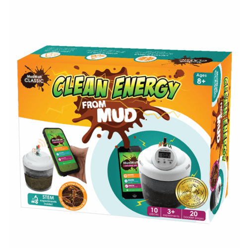 MudWatt: Clean Energy from Mud!