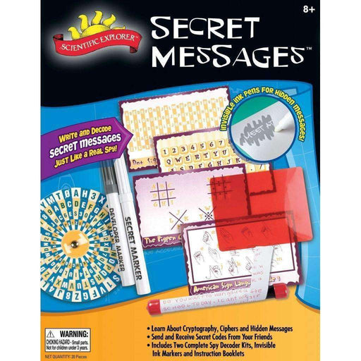 Secret Messages Kit