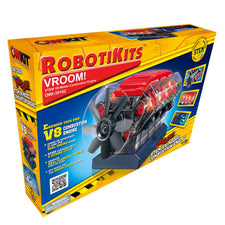 VROOM! STEM V8 Model Combustion Engine
