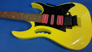 NEW Ibanez JEMJRSPYE Steve Vai Signature Electric Yellow