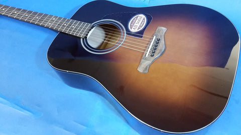 NEW Ibanez AW4000-BS All Solid Acoustic Guitar