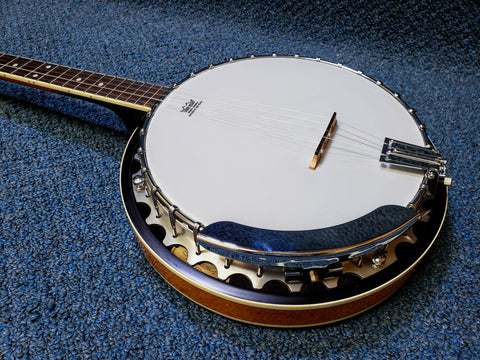 NEW Washburn B9 Resonator Banjo